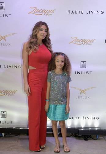 Larsa Pippen and daughter