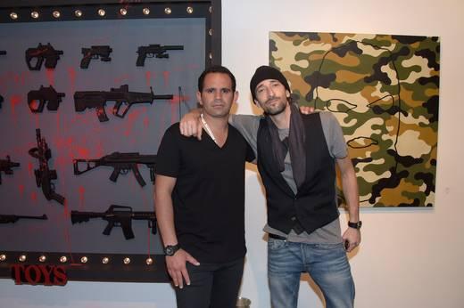 Eduardo Serio and Adrien Brody