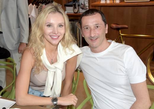 Katya Bakat and Pierre Salanitro