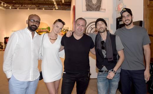 Salhle, Elona Hakum, Joey Goldman, Adrien Brody and Hassan Jamwel