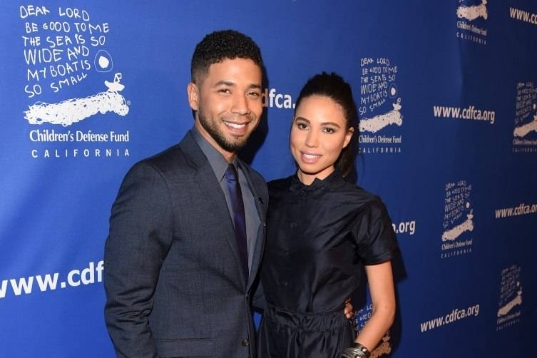 Jussie Smollett and co-chair Jurnee Smollett-Bell