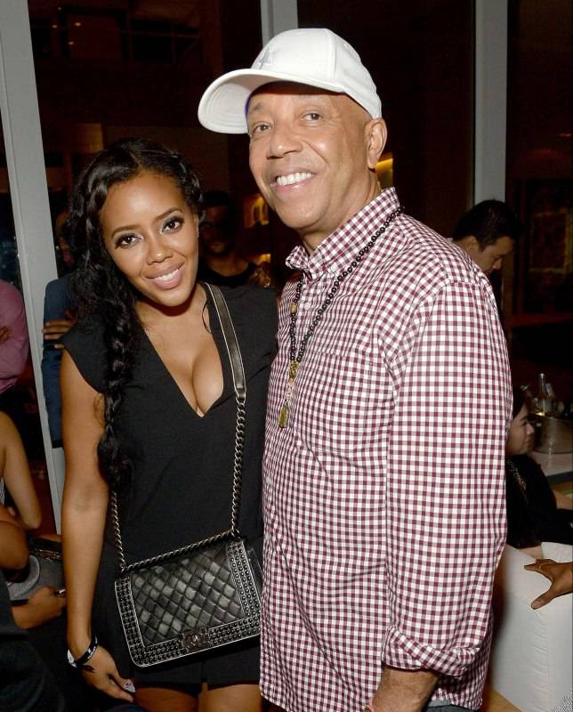 Angela Simmons and Russell Simmons attend the Haute Living And Hublot Event At Wayne Boich Residence on December 4, 2015 in Miami, Florida. (Photo by Gustavo Caballero/Getty Images for Haute Living)