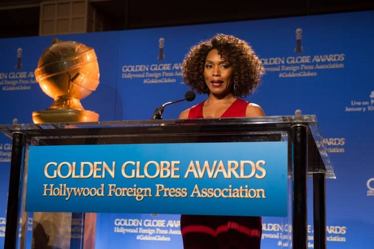 Angela Bassett at the 73rd annual Golden Globe Awards nominations on Thursday December 10, 2015 from the Beverly Hilton Hotel in Beverly Hills, CA.