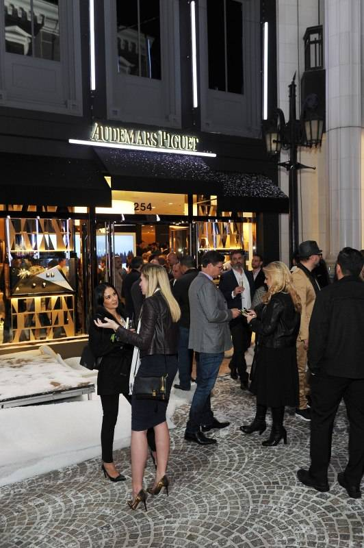 BEVERLY HILLS, CA - DECEMBER 09: General view of atmosphere at Audemars Piguet Celebrates the opening of Audemars Piguet Rodeo Drive at Audemars Piguet on December 9, 2015 in Beverly Hills, California. (Photo by Donato Sardella/Getty Images for Audemars Piguet)