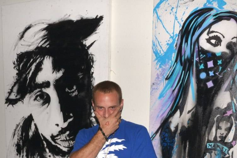 Artist Skott Marsi