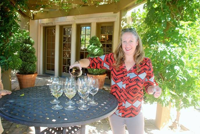 Bennett Lane Winery General Manager Stefanie Longton