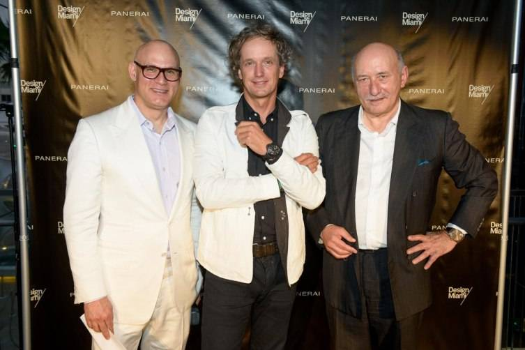 Craig Robins, Yves Behar, Angelo Bonati
