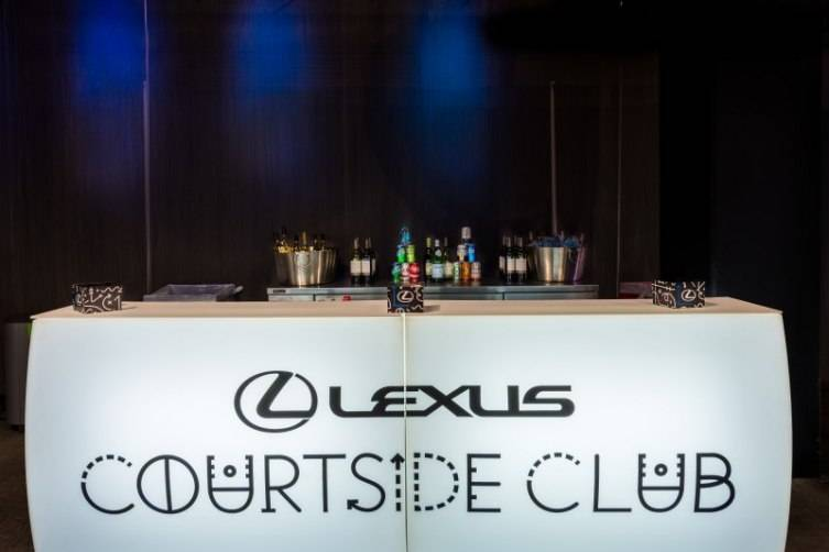 STAPLES Center's Lexus Clippers Courtside Club 5