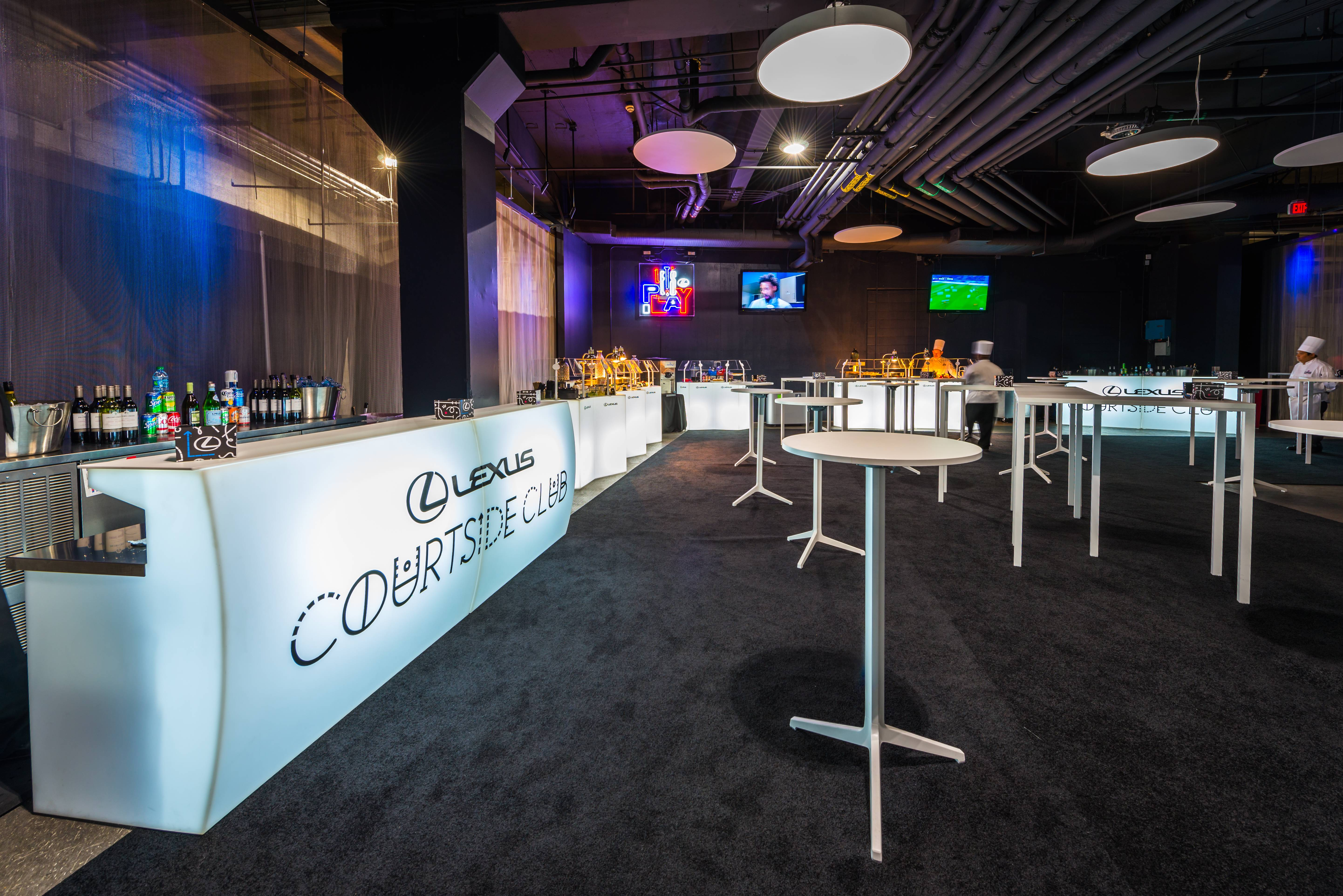 Go VIP at STAPLES Center's Lexus Clippers Courtside Club