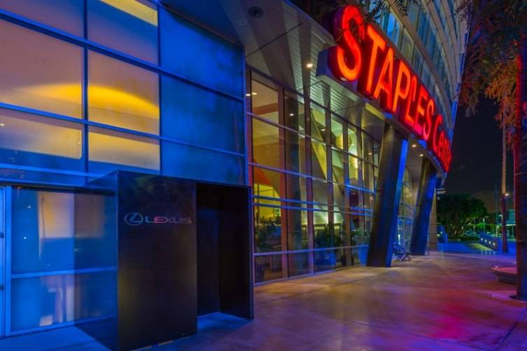 STAPLES Center's Lexus Clippers Courtside Club 1