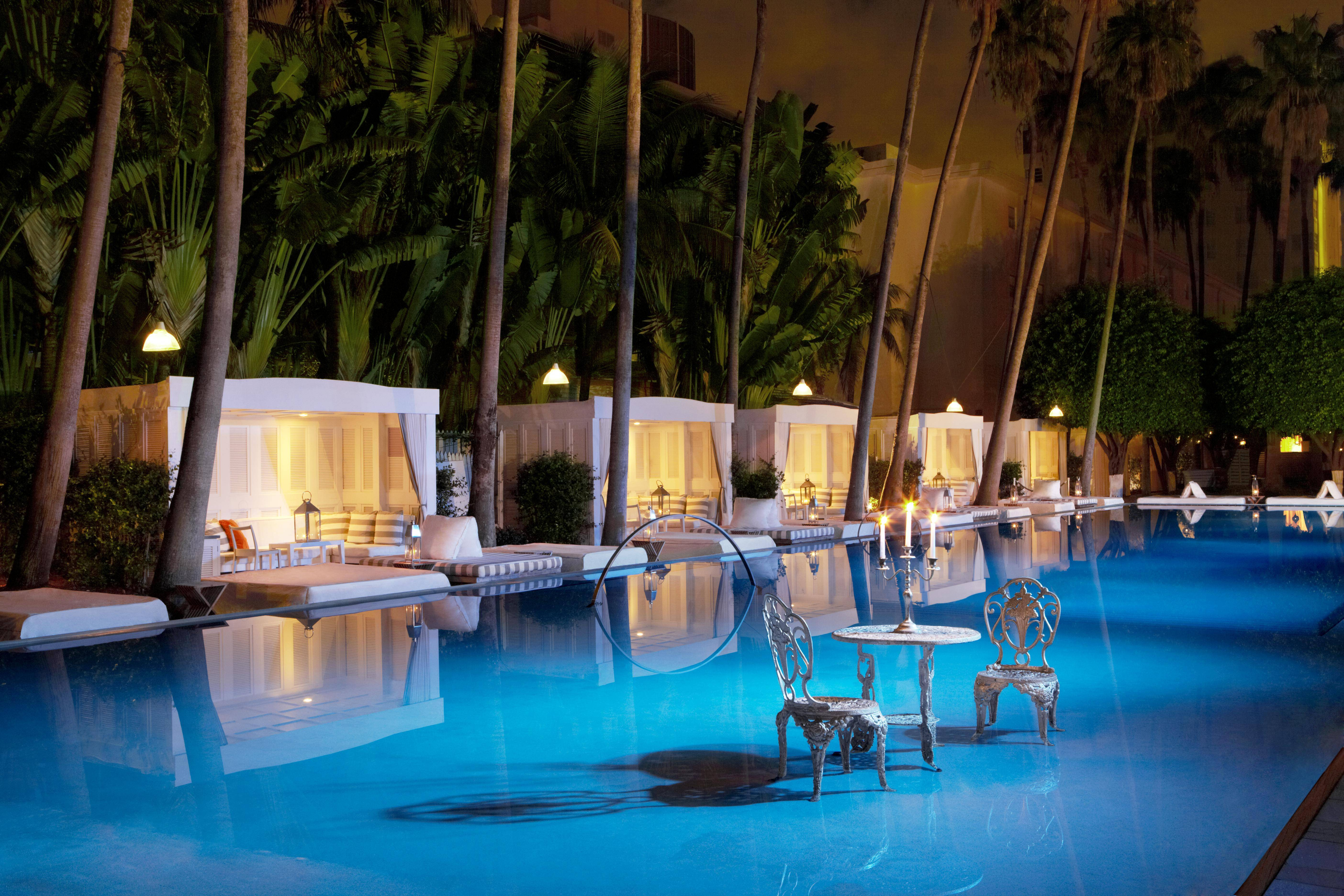 Miami S Most Glamorous Hotel Pools
