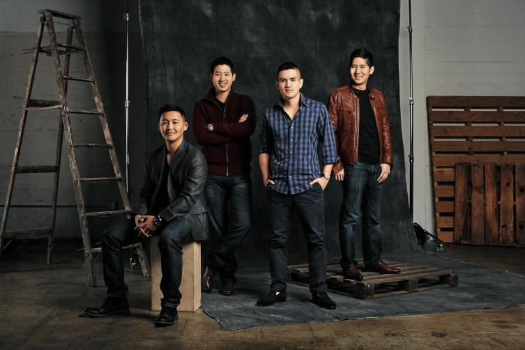 CEO Jerry Hum is second from right.