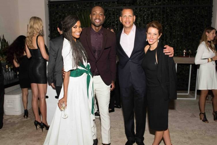 Gabrielle Union, Dwyane Wade, Alex Rodriguez and Bloomberg's Stephanie Ruhle