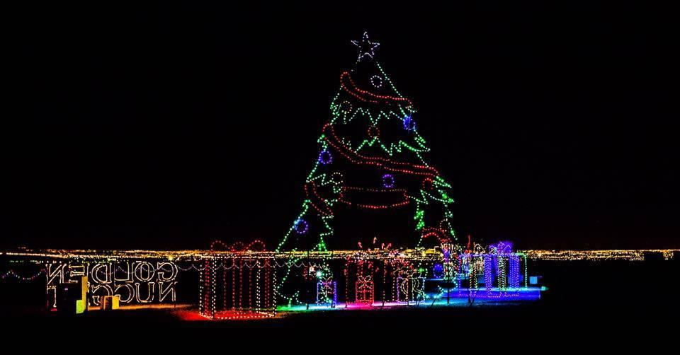 Gliterring lights