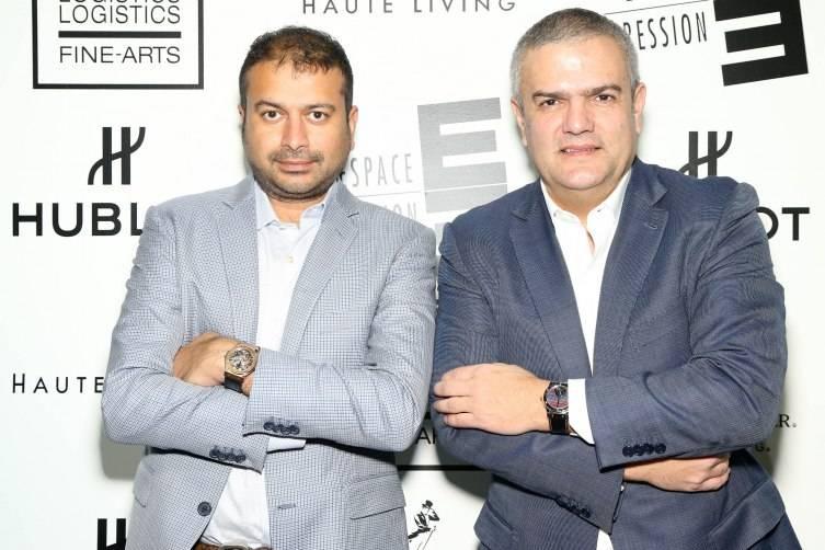 Kamal Hotchandani and Ricardo Guadalupe