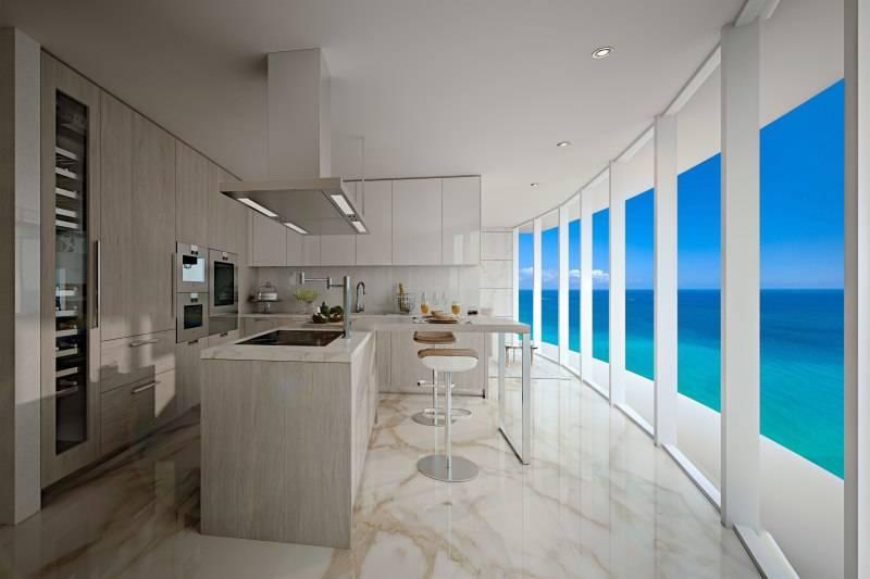 Kitchen Ritz-Carlton Residences Sunny Isles Beach