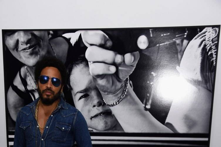 Lenny Kravitz attends the Opening of Lenny Kravitz FLASH Photography Exhibition at Miami Design District on December 1, 2015 in Miami, Florida. (Photo by Jamie McCarthy/Getty Images for Forbes PR)