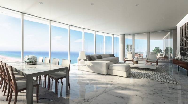 Living Room Ritz-Carlton Residences Sunny Isles Beach