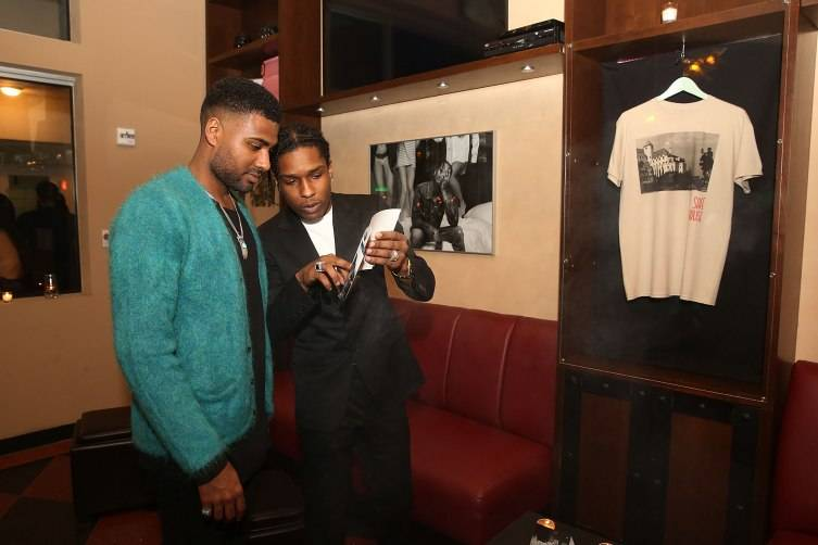 Mark Anthony Green And A$AP Rocky Host
