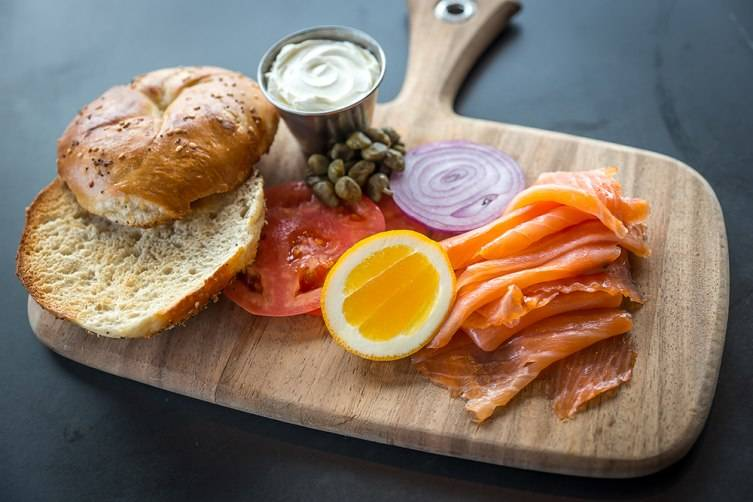 Mr. Purple - Bagel and Lox