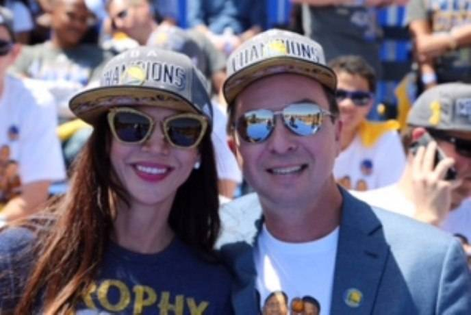 Nicole Curran and Joe Lacob