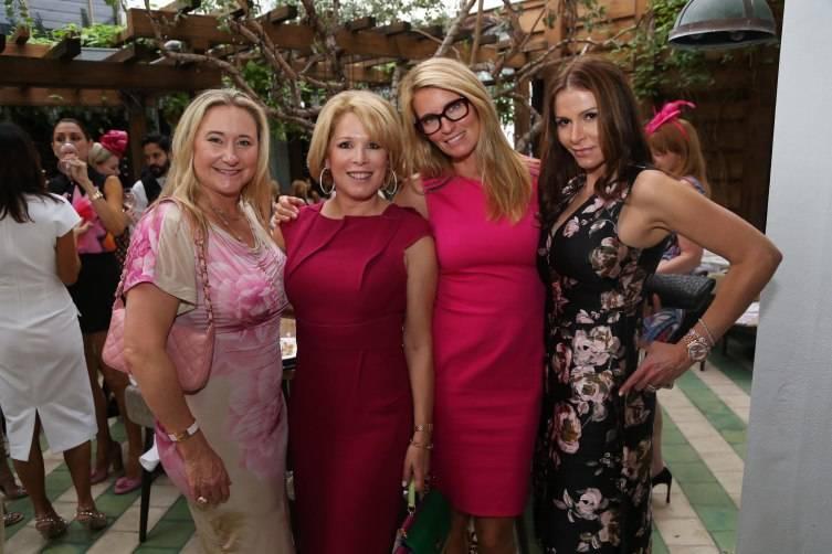 Nicole Lozano, Barbara Hevia, Jennifer Kennedy, & Eilah Beavers