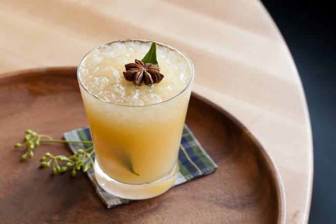 Panache Indochine (served on the 3rd floor terrace)
