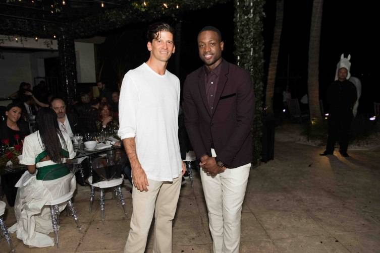 Wayne Boich and Dwyane Wade