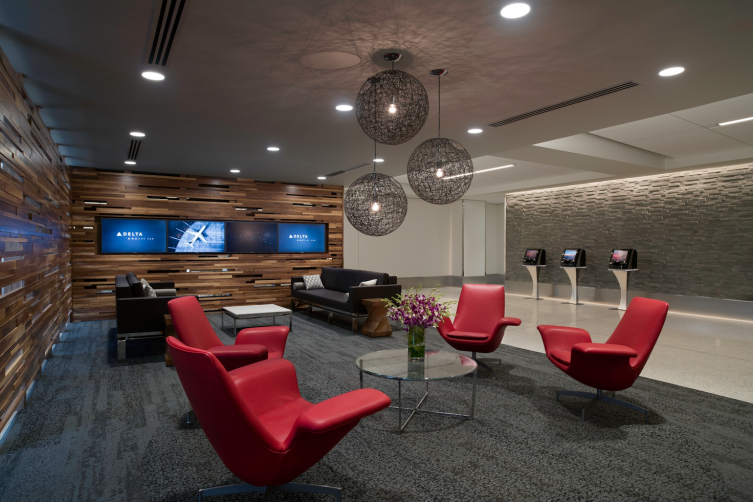 The Delta ONE Lounge at LAX