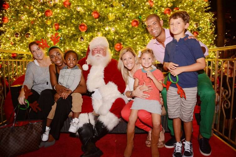 Shane Battier, Santa & Family