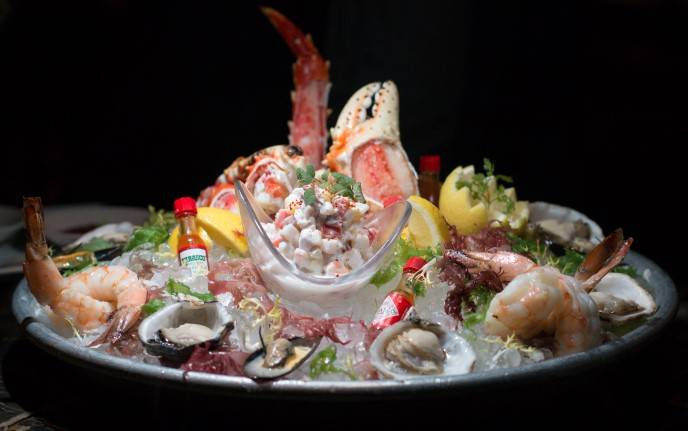 Shellfish Platter at Bourbon Steak San Francisco-