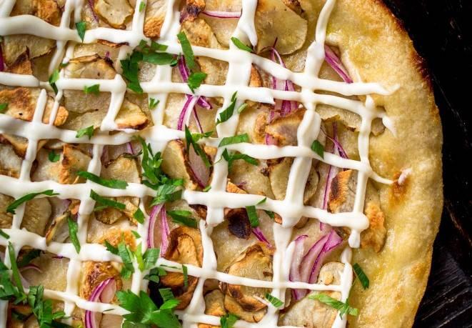 Sunchoke Pizza