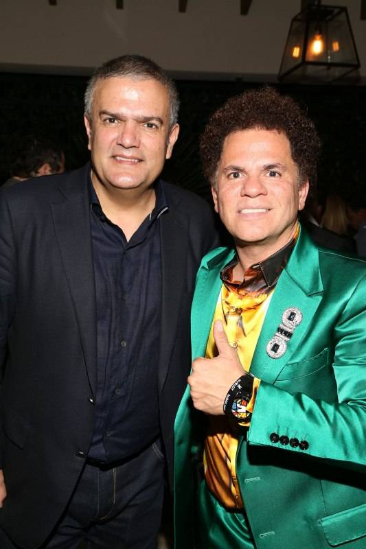 Ricardo Guadalupe and Romero Britto