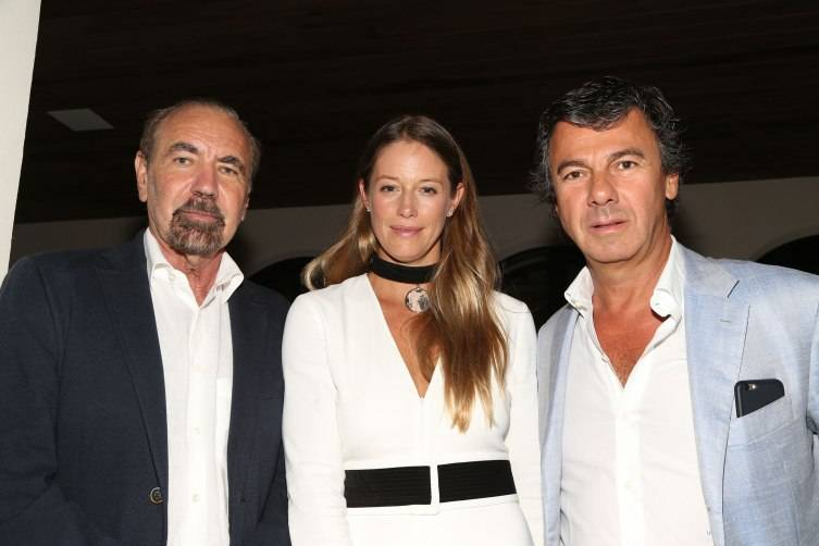 Jorge Perez, Sara and Ugo Colombo