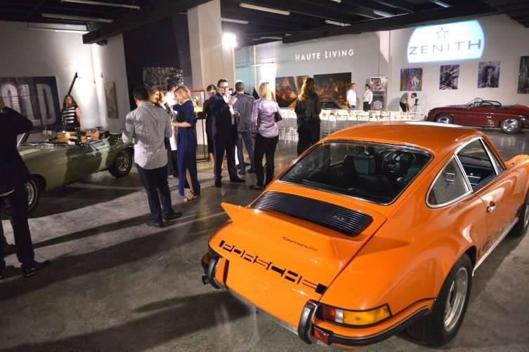 Vintage Porsche at Lou La Vie