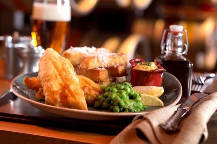 Yorkshire Ale Batter Fish & Chips