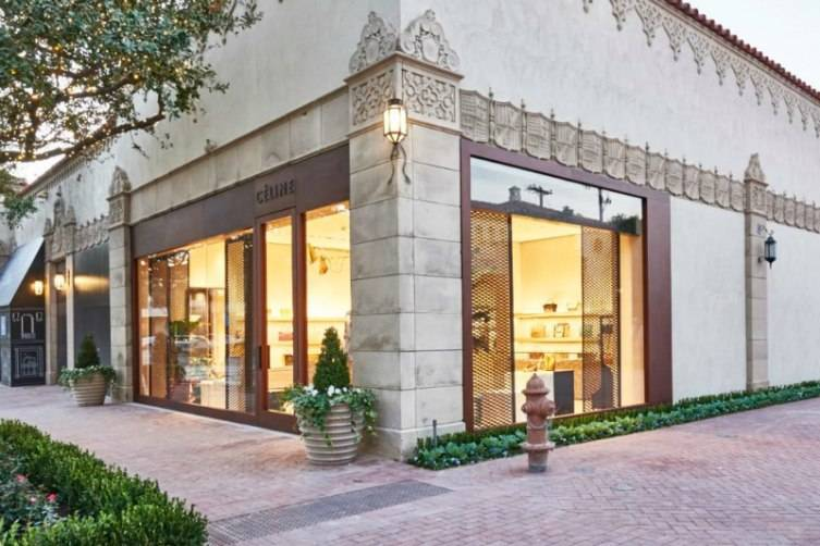 Céline opened its doors in Highland Park Village in October.