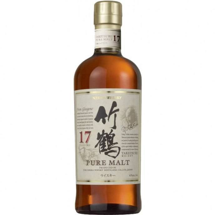 Nikka Whisky Taketsuru Pure Malt 17 Years Old