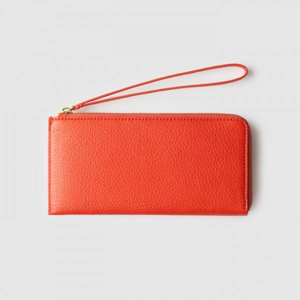 octovo-womens-phonebooth-iphone-wristlet-wallet-leather-orange-back_2-1