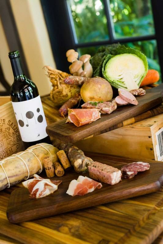 Executive Chef Rick Mace will be preparing a charcuterie similar to this for the reception