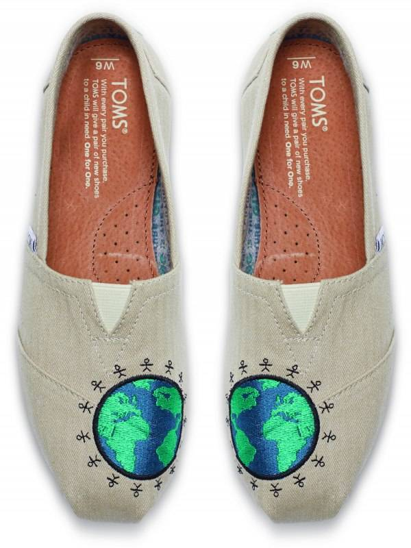 10006934-SMU-Giving Embroidered Globe Womens Classics-T