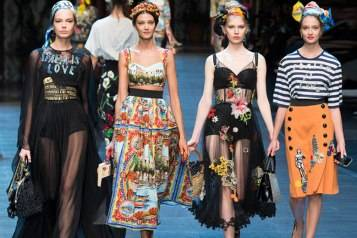 2016 Fashion Trends Dolce & Gabbana