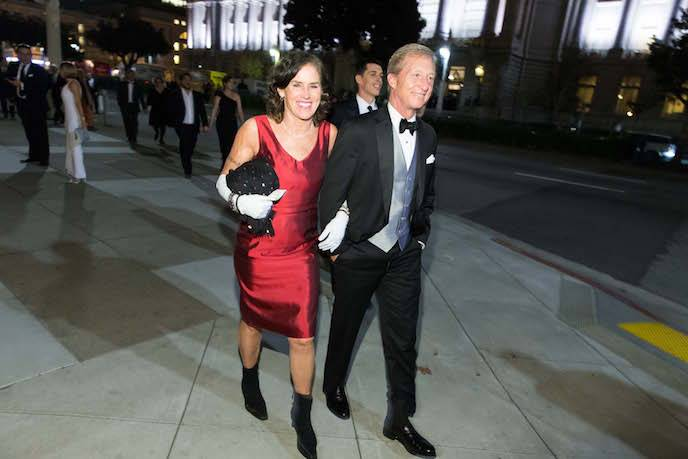 Kat Styer and Tom Steyer