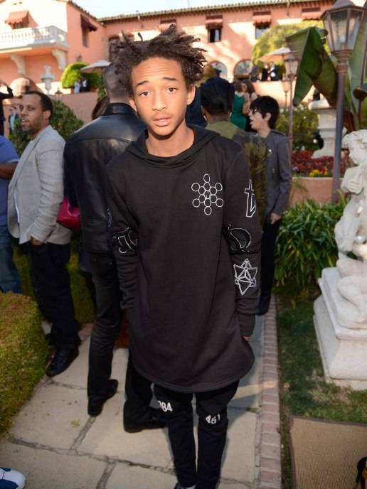 Jaden Smith attends the Roc Nation Pre-GRAMMY Brunch presented by MAC Viva Glam