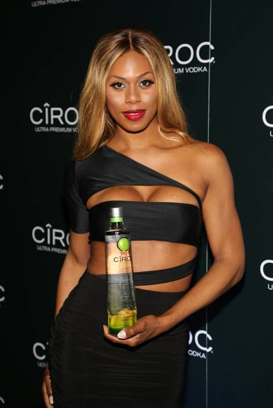 MIAMI, FL - DECEMBER 31: Laverne Cox attends the CIROC APPLE at Sean 'Diddy' Combs and CIROC Ultra-Premium Vodka New Year's Eve Party On Star Island on December 31, 2015 in Star Island on December 31, 2015 in Miami Beach, Florida. (Photo by Alexander Tamargo/Getty Images for CIROC)