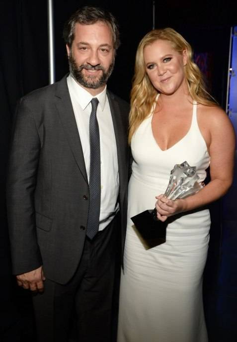 Judd Apatow and Amy Schumer attend the 21st Annual Critics' Choice Awards