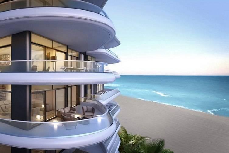 Faena House beach view.