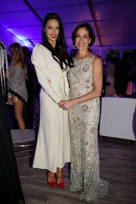 Adriana Lima and Artistic Director Lourdes Lopez at MCB 30th Anniversary Gala