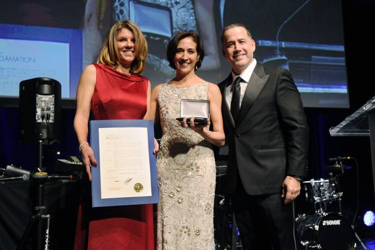 Commissioner Kristen Rosen Gonzalez, Lourdes Lopez, & Mayor Philip Levine at Miami City Ballet's 30th Anniversary Gala
