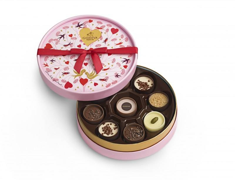 Coupes d'amour Round Gift Box_JPG